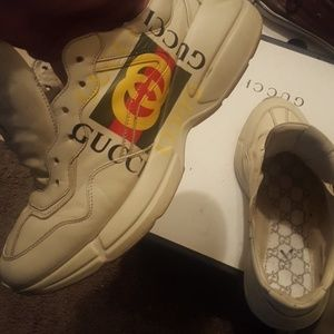 Authentic Gucci Sneakers 10.5 With Box Original